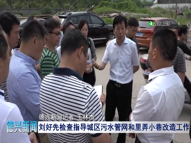 刘好先检查指导城区污水管网和里弄小巷改造工作
