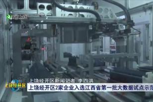 经开区2家企业入选江西省第一批大数据试点示范企业