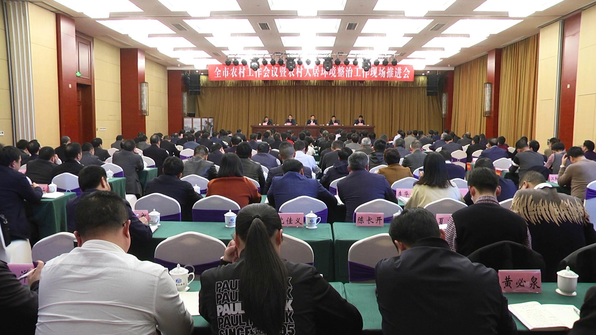 全市农村工作会议暨农村人居环境整治工作现场推进会召开