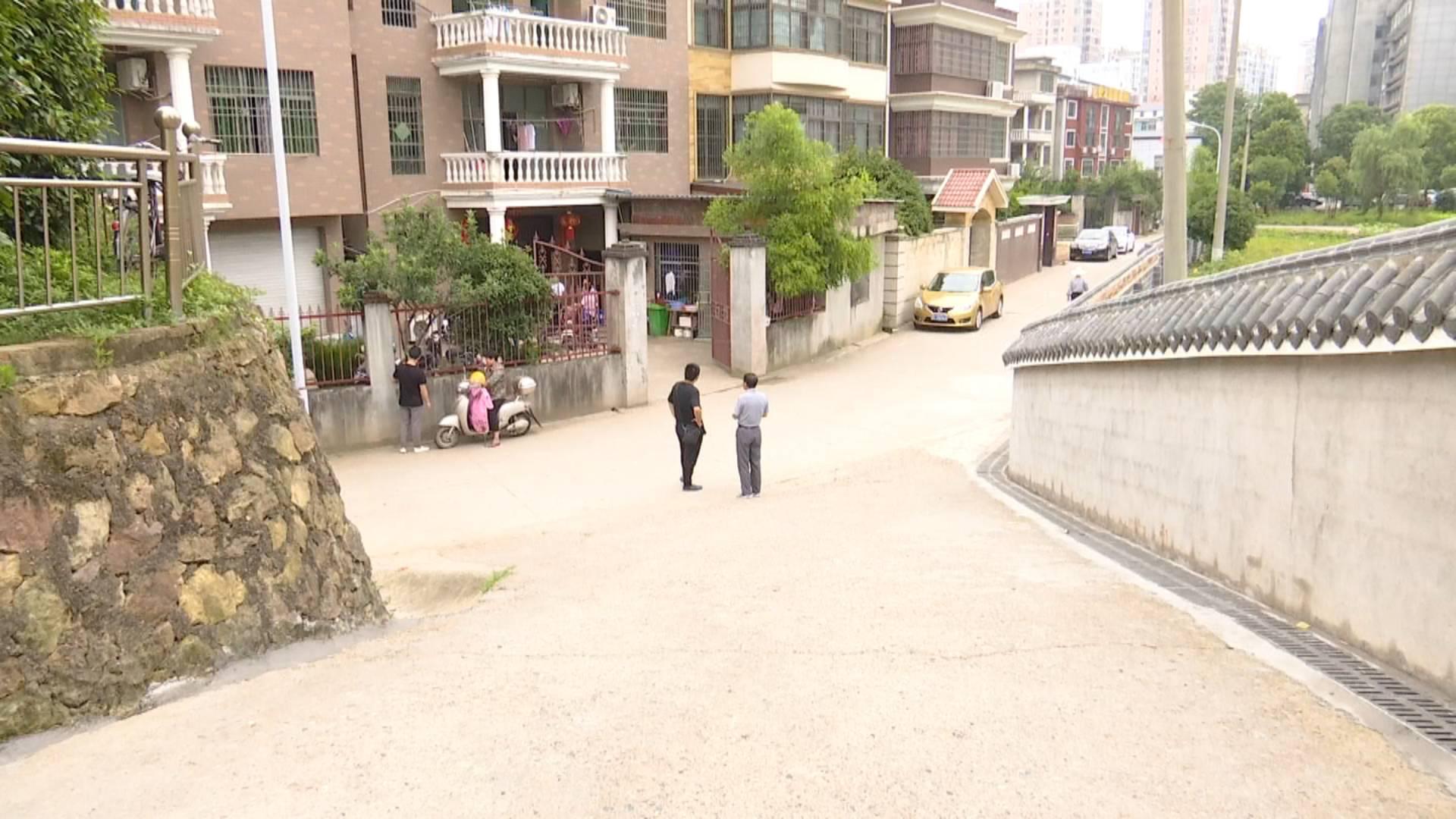 安置小区内雨天积水严重  反映后问题得解决