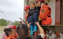 520名消防指戰員增援鄱陽 1159名遇險群眾獲救