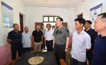 刘奇书记在永修县调研灾后重建工作