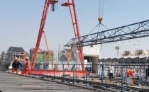 鄱余特大桥架梁工程全面展开
