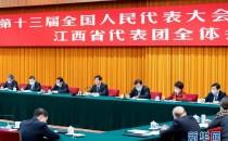 栗戰書參加江西代表團審議,對江西工作提出這些要求