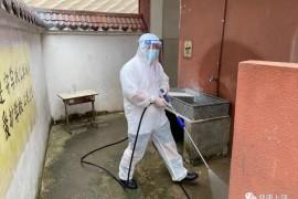 鄱阳县:洪水逐渐退去,灾后防疫正在进行