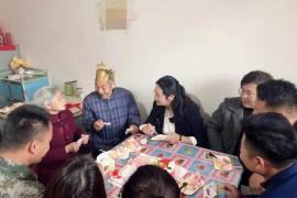 抗美援朝老兵迎来88岁生日