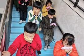 橫峰縣各學校開展消防演練
