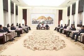 史文斌会见中国农业发展银行客人