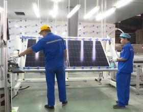 """上饶打造""""世界光伏城""""的重要里程碑:晶科能源""""再倍增""""龙8开始投产!"""