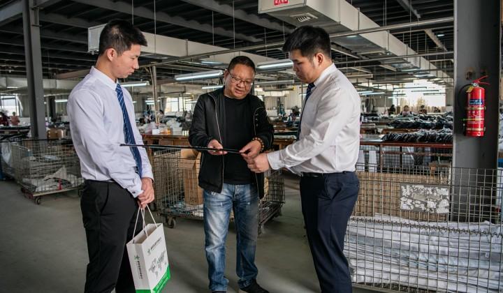 鄱陽恒通村鎮銀行實地走訪為小微企業紓困解難?